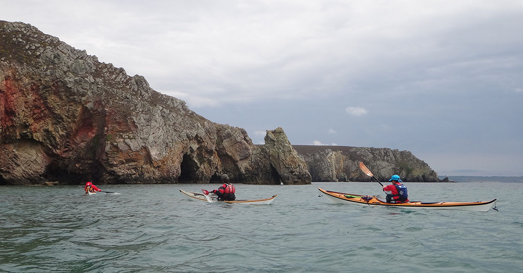 Rassemblement anniversaire 10 ans kayakdemer.eu à Crozon en août 2016