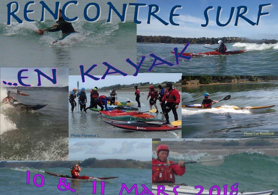 Rencontre Surf 10 & 11 mars 2018